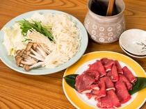 猪鍋(別途料金)