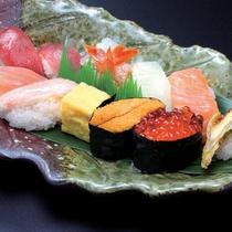 食事処ゆめやでのお食事 寿司盛雅