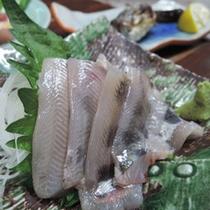*新鮮な魚介を使ったお料理