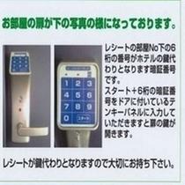 暗証番号システム