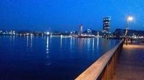 高松港からの夜景