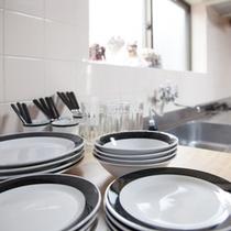 キッチンの食器類