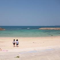 宇堅ビーチ(うけんビーチ)【車で約15分】