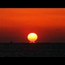 綺麗な夕日にうぅとり★