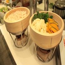 朝食 温野菜