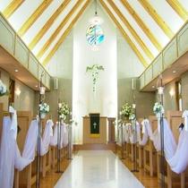結婚式場 チャペル