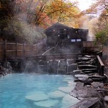 *【共同浴場】蔵王温泉の共同浴場で一番人気!「大露天風呂」※冬期は閉鎖となります
