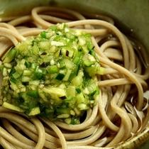 お料理一例/蕎麦