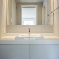 専用洗面台付客室洗面スペース