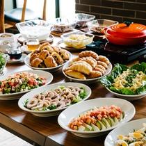 レストラン&デリ「RAGOUT & WHISKY HOUSE」_朝食