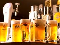 旨い生ビールが24時間