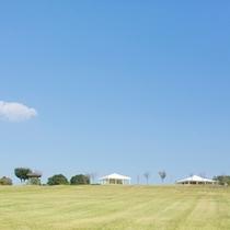 てふてふの丘にはヨガテラスと里山ラウンジ