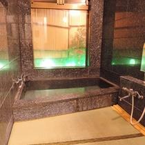 *名物!お座敷風呂(通常男性側)/浴室内の洗い場も『畳敷き』にした珍しいお風呂です