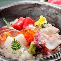 贅沢海鮮丼!