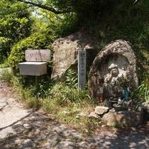 黒滝山の石仏 プチトレッキングを楽しみながら巡礼を。