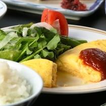 朝食_チーズオムレツ_