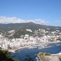 熱海城からの風景