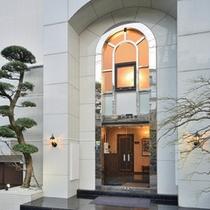 玄関前風景