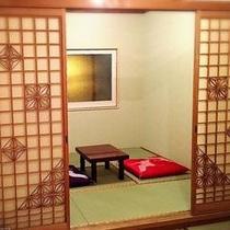 熊本産高級畳を使用した純和風のお部屋