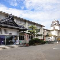 *【外観】尼子氏の城「富田城」が築かれた広瀬町・月山の麓にございます。
