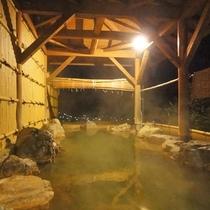 *【男湯/露天風呂】開放感のある露天風呂を景色と共にお楽しみください。