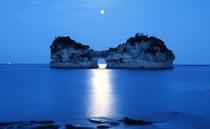 円月島01