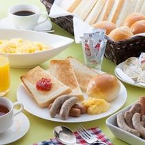 新ブッフェ朝食