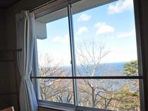 【客室からの眺め】太平洋を眺めることができます。