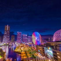 ■景色■『これぞ横浜!』非日常へのトリップ。光で彩られた極上の夜景を。