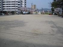 隣の公園「舟入公園」