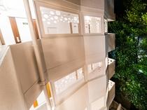 スーパーホテル石垣島中庭