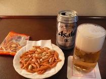 缶ビール&おつまみ