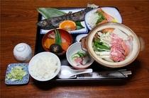 夜食:一人鍋(一例)
