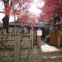 小泉八雲旧宅(丸小ホテルを囲む風景)