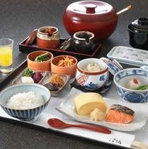 浮橋 和朝食(イメージ)