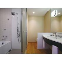 洗い場付きバスルーム