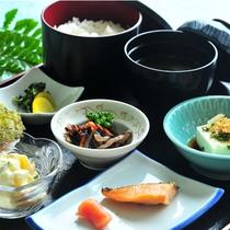 和朝食の一例