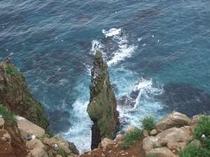 観光名所の赤岩展望台