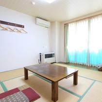 *客室一例/お一人様からのんびりとご宿泊頂けます。