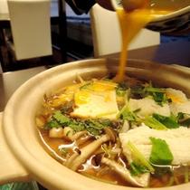 【夕食一例】鱧の柳川鍋