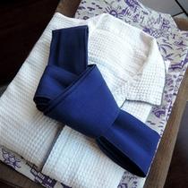 【客室アメニティ】浴衣やタオルなどご用意しております