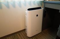 「加湿機能付空気清浄器」