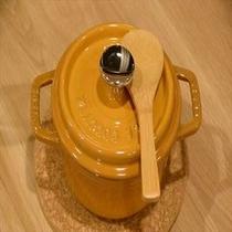 金目鯛のごはん 小さなストウブの鍋で仕上げます、お魚は季節で変わります!