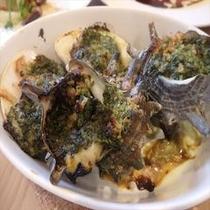 定番!貝類のガーリックバター焼き
