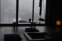浮生 部屋(冬)