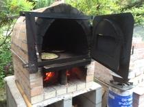 ピザ窯でピザを焼こう