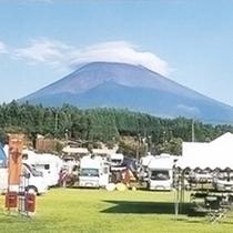 *【キャンプ場】35000㎡と国内一の広さを誇るオートキャンプ場です。