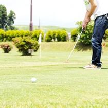 *【パターゴルフ】全32ホールのグラウンドゴルフコース。初心者から上級者まで楽しめます。