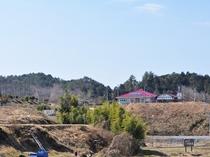 【周辺】山々が美しいのどかな風景のなかにどんぐり村があります