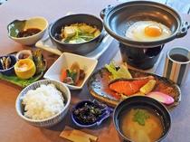 【朝食一例】品数豊富で朝から栄養満点!
